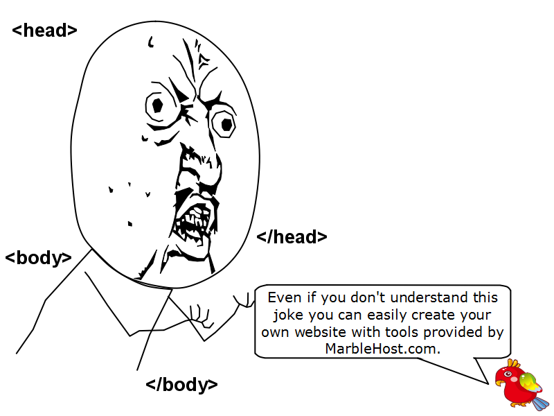 web hosting jokes marblehost